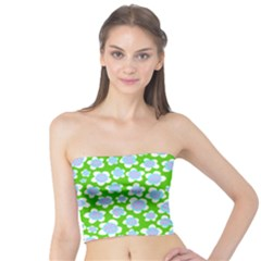Flower Green Copy Tube Top
