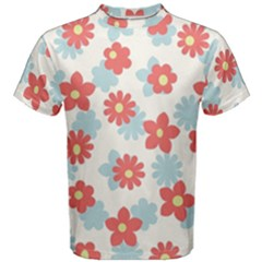 Flower Pink Men s Cotton Tee