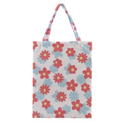 Flower Pink Classic Tote Bag