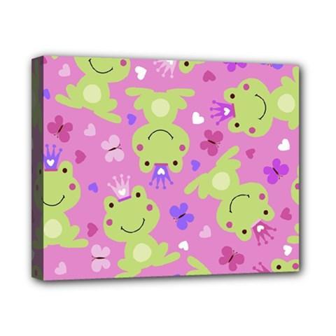 Frog Princes Canvas 10  x 8