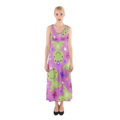 Frog Princes Sleeveless Maxi Dress