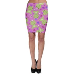Frog Princes Bodycon Skirt