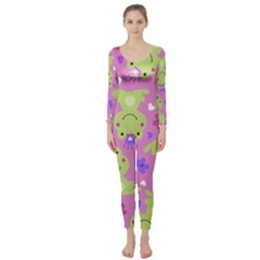 Frog Princes Long Sleeve Catsuit