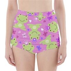 Frog Princes High-Waisted Bikini Bottoms