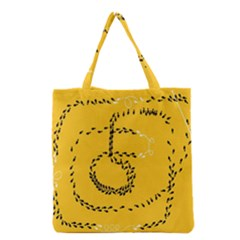 Yellow Soles Of The Feet Grocery Tote Bag