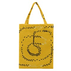 Yellow Soles Of The Feet Classic Tote Bag