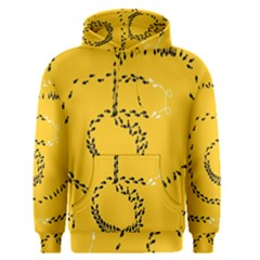 Yellow Soles Of The Feet Men s Pullover Hoodie