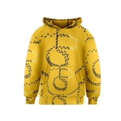 Yellow Soles Of The Feet Kids  Pullover Hoodie