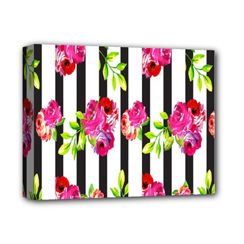 Flower Rose Deluxe Canvas 14  x 11