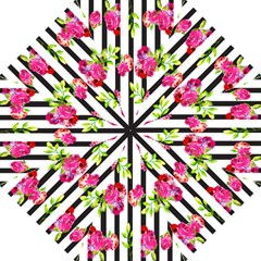 Flower Rose Hook Handle Umbrellas (Medium)