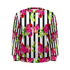 Flower Rose Women s Sweatshirt