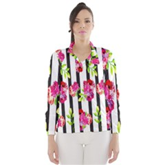 Flower Rose Wind Breaker (Women)