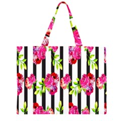 Flower Rose Large Tote Bag
