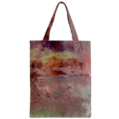 Sunrise Zipper Classic Tote Bag