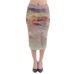 Sunrise Midi Pencil Skirt