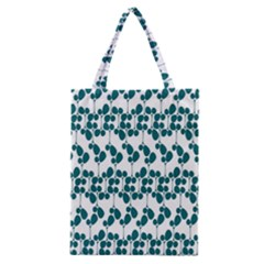Flower Tree Blue Classic Tote Bag