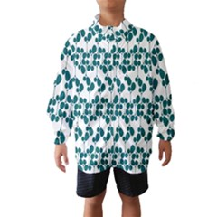 Flower Tree Blue Wind Breaker (Kids)
