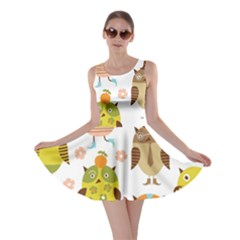 Highres Owls Skater Dress