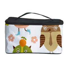 Highres Owls Cosmetic Storage Case