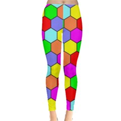 Hexagonal Tiling Leggings