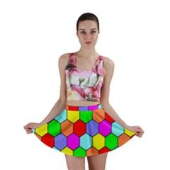 Hexagonal Tiling Mini Skirt