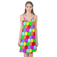Hexagonal Tiling Camis Nightgown