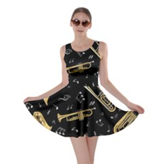 Instrument Saxophone Jazz Skater Dress