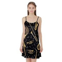 Instrument Saxophone Jazz Satin Night Slip