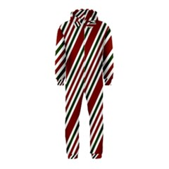 Line Christmas Stripes Hooded Jumpsuit (Kids)