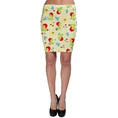 Lion Animals Sun Bodycon Skirt