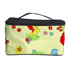 Lion Animals Sun Cosmetic Storage Case