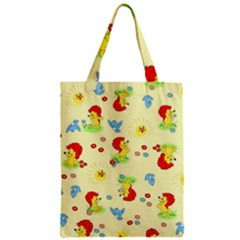 Lion Animals Sun Zipper Classic Tote Bag