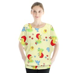 Lion Animals Sun Blouse
