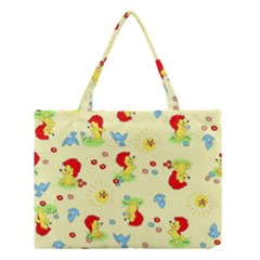 Lion Animals Sun Medium Tote Bag