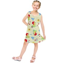 Lion Animals Sun Kids  Tunic Dress