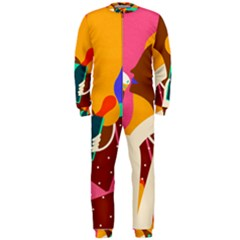 Girl Colorful Copy OnePiece Jumpsuit (Men)