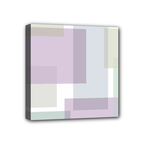 Abstract Background Pattern Design Mini Canvas 4  x 4