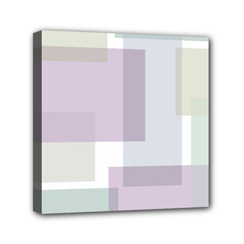 Abstract Background Pattern Design Mini Canvas 6  x 6