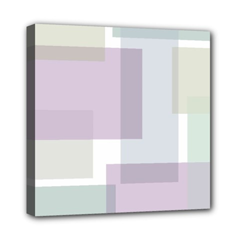 Abstract Background Pattern Design Mini Canvas 8  x 8