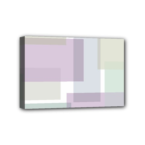 Abstract Background Pattern Design Mini Canvas 6  x 4