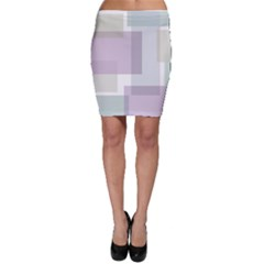 Abstract Background Pattern Design Bodycon Skirt