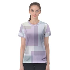 Abstract Background Pattern Design Women s Sport Mesh Tee