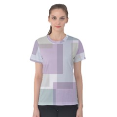 Abstract Background Pattern Design Women s Cotton Tee