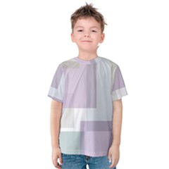 Abstract Background Pattern Design Kids  Cotton Tee