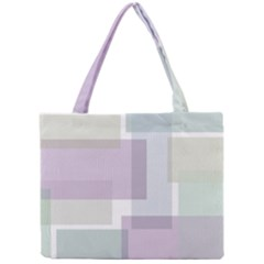 Abstract Background Pattern Design Mini Tote Bag