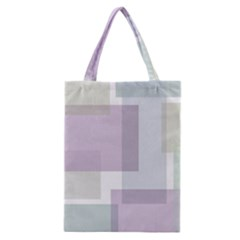 Abstract Background Pattern Design Classic Tote Bag