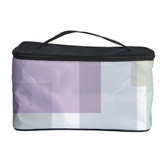 Abstract Background Pattern Design Cosmetic Storage Case