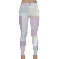 Abstract Background Pattern Design Classic Yoga Leggings