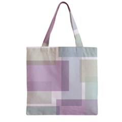 Abstract Background Pattern Design Zipper Grocery Tote Bag