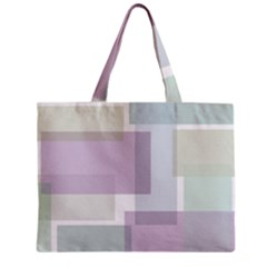 Abstract Background Pattern Design Zipper Mini Tote Bag